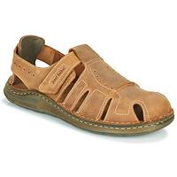 Sapatos Homem Sandálias Josef Seibel MAVERICK 01 Castanho