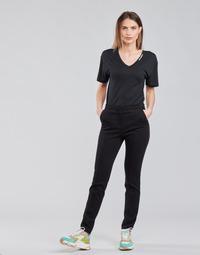 Textil Mulher Calças Karl Lagerfeld SUMMERPUNTOPANTS Preto