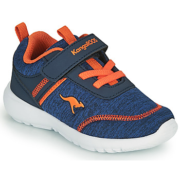 Sapatos Rapaz Sapatilhas Kangaroos KY-CHUMMY EV Azul / Laranja