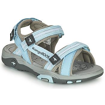 Sapatos Criança Sandálias Kangaroos K-LENI Azul / Cinza