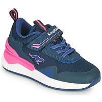 Sapatos Rapariga Sapatilhas Kangaroos KD-GYM EV Azul / Rosa