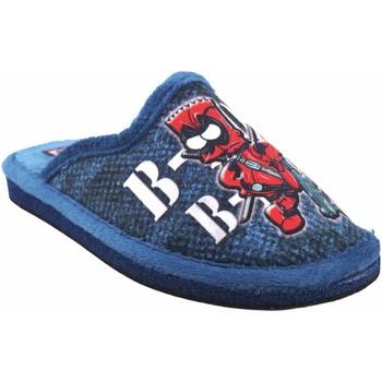 Sapatos Rapaz Chinelos Gema Garcia Vá para casa garoto  2304-15 azul Rouge