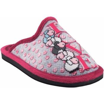 Sapatos Rapariga Chinelos Gema Garcia Vá para casa garota  2304-8 malva Gris
