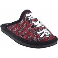 Sapatos Rapaz Chinelos Gema Garcia Vá para casa, criança  2304-14 ne.roj Rouge