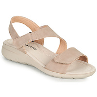 Sapatos Mulher Sandálias Damart 67808 Bege / Rosa