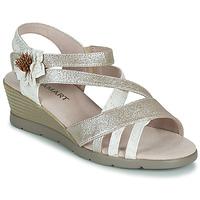 Sapatos Mulher Sandálias Damart 61170 Prata