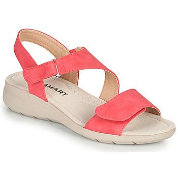 Sapatos Mulher Sandálias Damart 67808 Vermelho