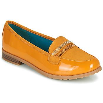 Sapatos Mulher Mocassins Damart 64847 Castanho