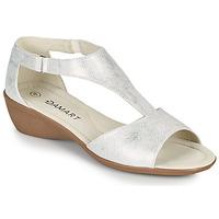 Sapatos Mulher Sandálias Damart 49019 Prata
