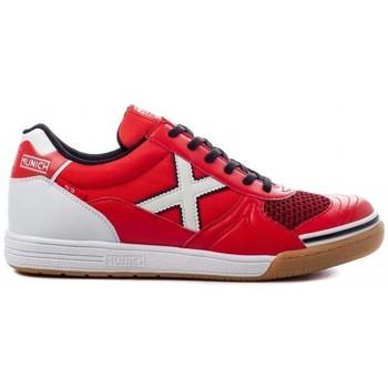 Sapatos Homem Sapatilhas Munich INDOOR 1068 3111068 Vermelho