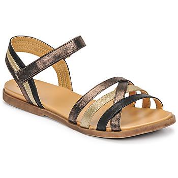 Sapatos Rapariga Sandálias Bullboxer ALM003F1S-ROSE Preto