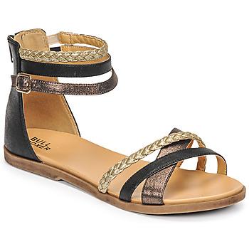 Sapatos Rapariga Sandálias Bullboxer ALM013F1S-ROSE Preto
