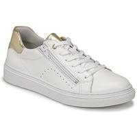 Sapatos Rapariga Sapatilhas Bullboxer AOP000E5L-WHPN Branco