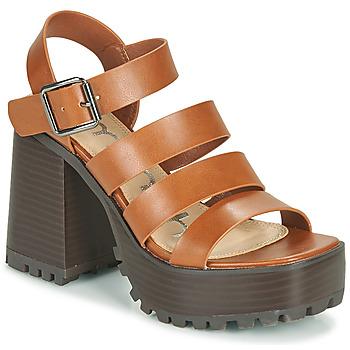 Sapatos Mulher Sandálias Emmshu DITA Conhaque