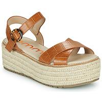 Sapatos Mulher Sandálias Emmshu NESA Conhaque