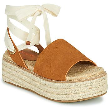 Sapatos Mulher Sandálias Emmshu SEARA Conhaque