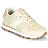 Sapatos Mulher Sapatilhas Esprit AMBRO Bege / Rosa
