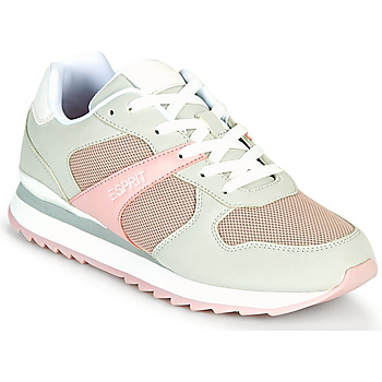 Sapatos Mulher Sapatilhas Esprit AMBRO Verde / Rosa