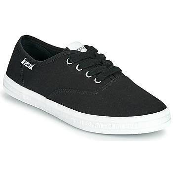 Sapatos Mulher Sapatilhas Esprit NITA Preto