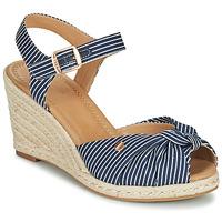 Sapatos Mulher Sandálias Esprit ELIN Azul / Branco