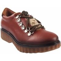 Sapatos Mulher Sapatos Csy Sapato feminino CO & SO pach253 de couro Castanho