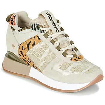 Sapatos Mulher Sapatilhas Gioseppo PATERSON Bege / Cáqui