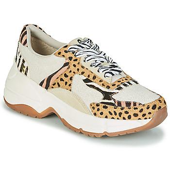Sapatos Mulher Sapatilhas Gioseppo FORMIA Branco / Leopardo