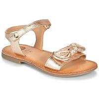 Sapatos Rapariga Sandálias Gioseppo CLEBER Rosa / Ouro