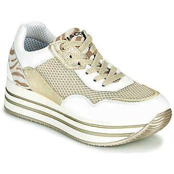 Sapatos Mulher Sapatilhas IgI&CO ALMINTA Branco / Ouro