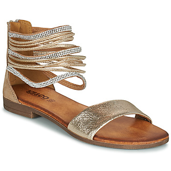 Sapatos Mulher Sandálias IgI&CO BRONIA Ouro / Conhaque
