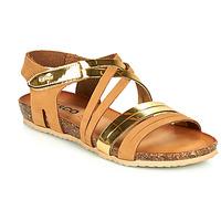 Sapatos Mulher Sandálias IgI&CO DREZZINA Conhaque / Ouro