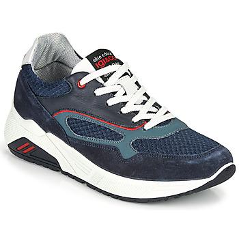 Sapatos Homem Sapatilhas IgI&CO COCULA Marinho / Vermelho