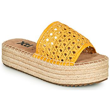 Sapatos Mulher Chinelos Xti FREDI Amarelo