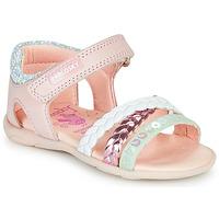 Sapatos Rapariga Sandálias Pablosky KINNO Rosa