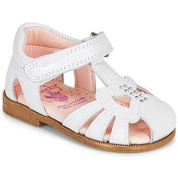 Sapatos Rapariga Sandálias Pablosky PAMMO Branco