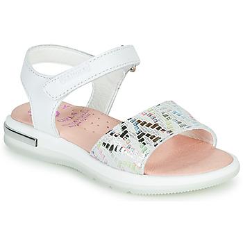 Sapatos Rapariga Sandálias Pablosky CAMMI Branco / Multicolor