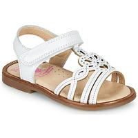 Sapatos Rapariga Sandálias Pablosky MARIE Branco