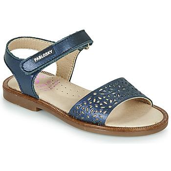 Sapatos Rapariga Sandálias Pablosky LILLA Marinho