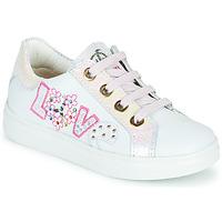 Sapatos Rapariga Sapatilhas Pablosky AMME Branco / Rosa