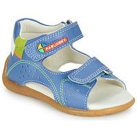 Sapatos Rapaz Sandálias Pablosky KINNI Azul