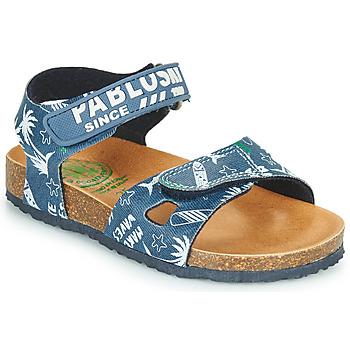 Sapatos Rapaz Sandálias Pablosky FOUNIR Azul