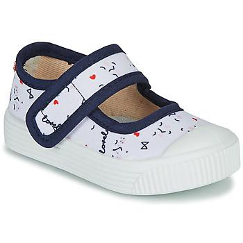Sapatos Criança Sabrinas Citrouille et Compagnie MY LOVELY BABIES Branco / Estampado