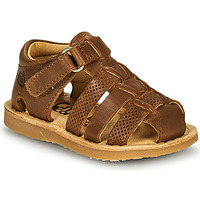 Sapatos Rapaz Sandálias Citrouille et Compagnie MISTIGRI Camel