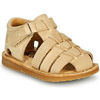 Sapatos Rapaz Sandálias Citrouille et Compagnie MISTIGRI Bege