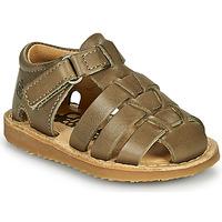 Sapatos Rapaz Sandálias Citrouille et Compagnie MISTIGRI Cáqui