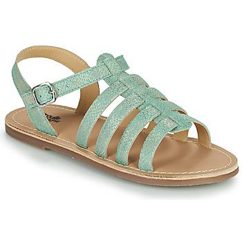 Sapatos Rapariga Sandálias Citrouille et Compagnie MAYANA Turquesa