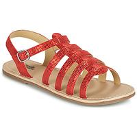 Sapatos Rapariga Sandálias Citrouille et Compagnie MAYANA Vermelho