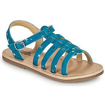 Sapatos Rapariga Sandálias Citrouille et Compagnie MAYANA Azul