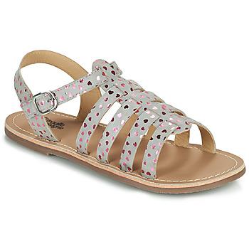 Sapatos Rapariga Sandálias Citrouille et Compagnie MAYANA Cinza
