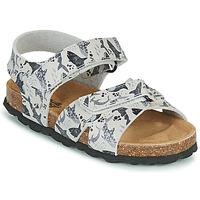 Sapatos Rapaz Sandálias Citrouille et Compagnie OMAYO Cinza